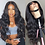 Thumbnail: Blonde Lace Front Wig Body Wave Frontal Wig