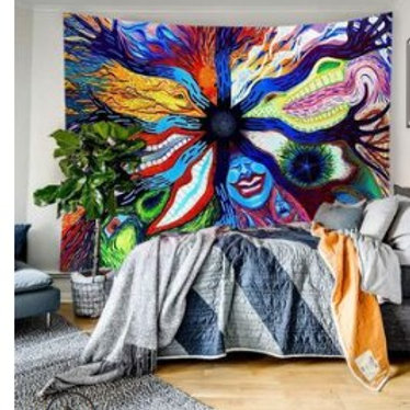 2020 New Arrival Wall Tapestry Skull Print Household Wall