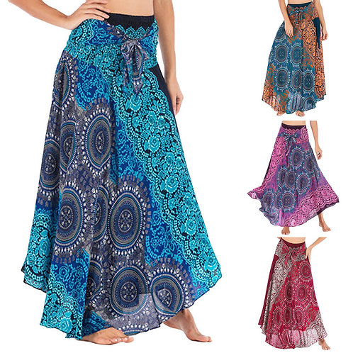 38# Women Long Bohemian Skirt  Womens