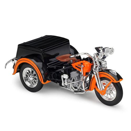 1947 Harley Servi-Car Tricycle Metal Motorcycle Diecast