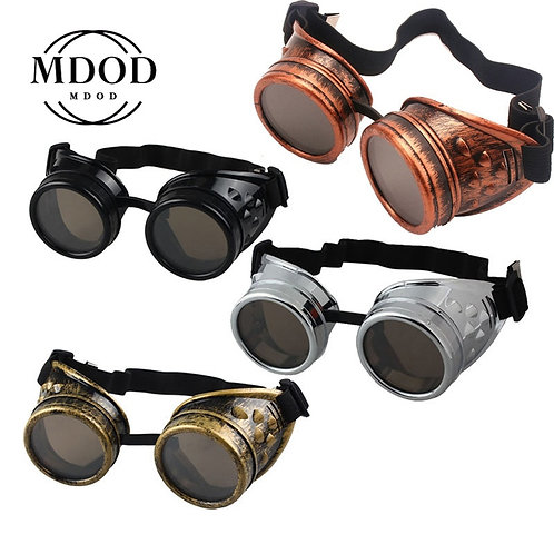 2020 New Fashion Arrival Sunglasses Vintage Style Steampunk