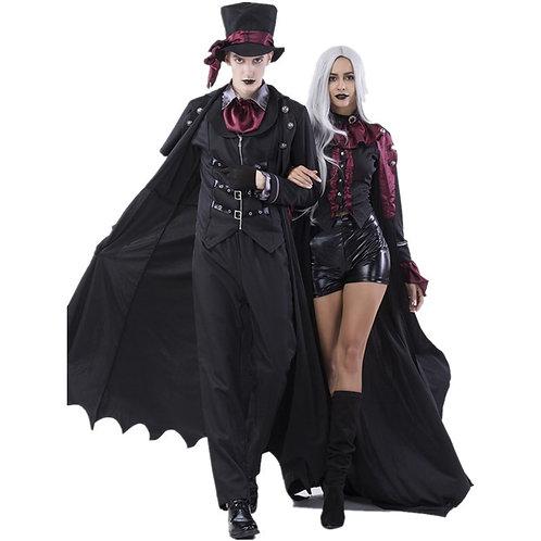 Costume Womens Steampunk Vampiress Uniforms Blood Countess Kits