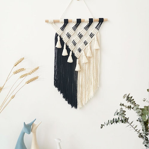 Bohemian Macrame Wall Hanging Tapestry