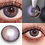 Thumbnail: 2pcs/Pair Aether Series Yearly Colored Contact Lens