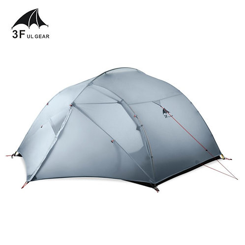 3F UL GEAR 3 Person 4 Season 15D Camping Tent Outdoor