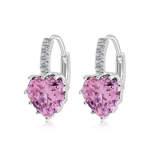 2019 Fashion Jewelry Silver Color Earring for Women