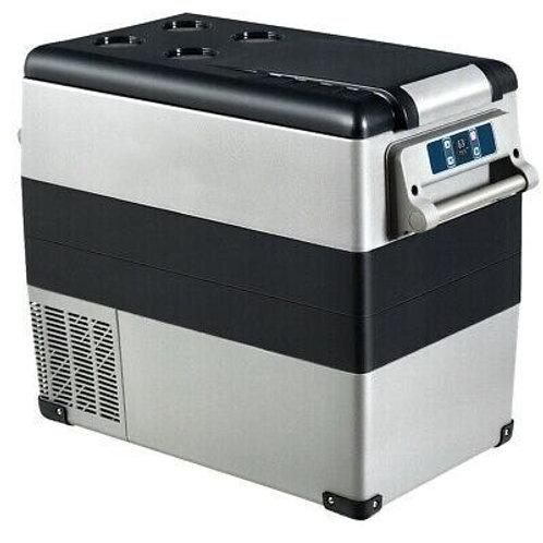 55L 12v/24v 110v/220v Portable Electric Car Cooler