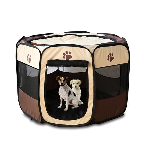 2020 Portable Folding Pet Tent Dog House Playpen