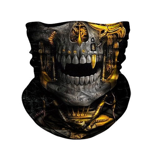 3D Skull Skeletoield Mask Scarf Bicycle Hunting Outdoor Anti-Uv Bandana