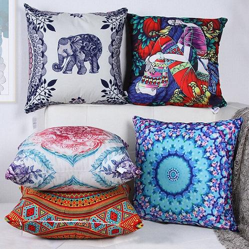 Boho Square Cushion With Filling Sofa