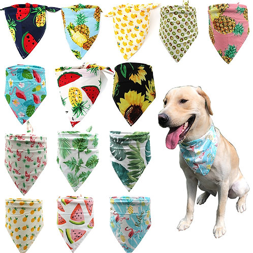 1pcs Dog Bandanas Customizable Puppy Cat Dog Bandana/Bibs