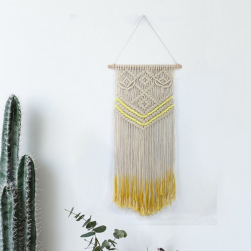 Bohemian Chic Woven Macrame Wall Hanging Decor