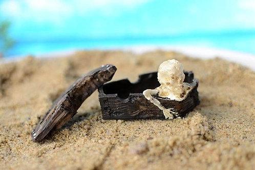 1pcs Household Crafts Coffin Skull Resin Skull Resin