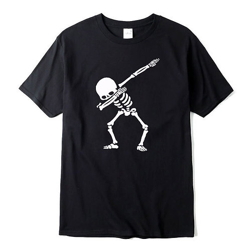 100% Cotton High Quality for Men Short Sleeve Dabbing