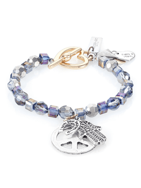 Boho Chic Sparkling Beaded Bracelet