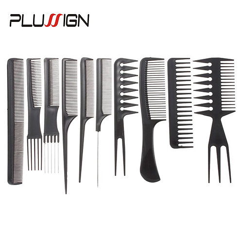10Pcs/Lot Anti Static Hair Brush for Kids Hairstyle Comb