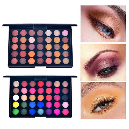 35 Colors Makeup Eyeshadow Powder Holographic 3D