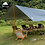 Thumbnail: 3F UL GEAR Ultralight 210T Silver Tarp Canopy Sunshade
