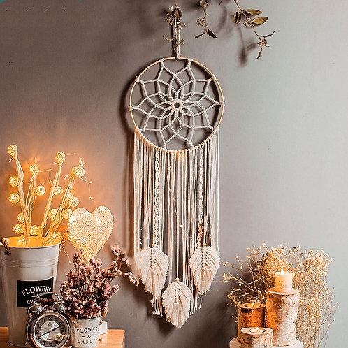 Bohemian Hand Woven Elegant Beautiful Hanging Hoops Wall Deco
