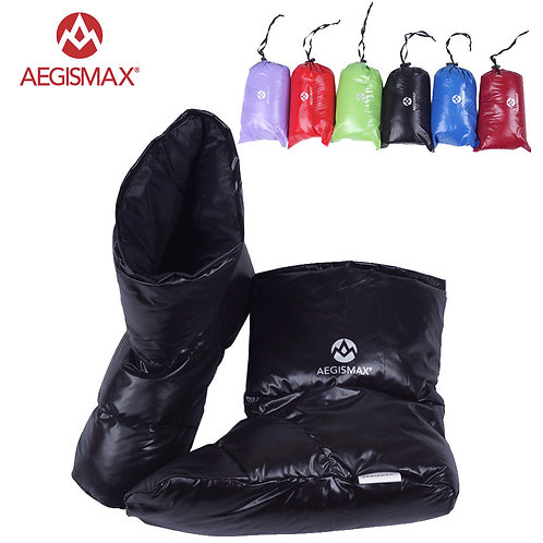 AEGISMAX Duck Down Slippers Shoes Bootees Boots
