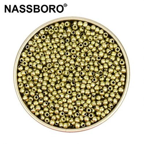 Approx.1000pcs 2mm Matellic Charm Czech Glass Beads Seed
