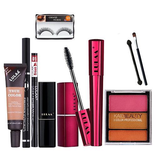 9PCS Daily Use Cosmetics Makeup Kit Concealer Eyeshadow