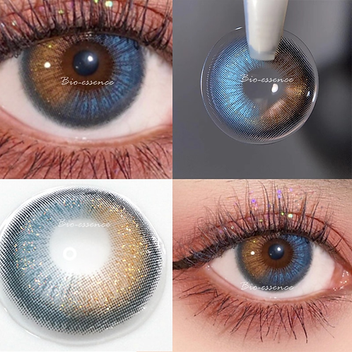 2pcs/Pair Aether Series Yearly Colored Contact Lens