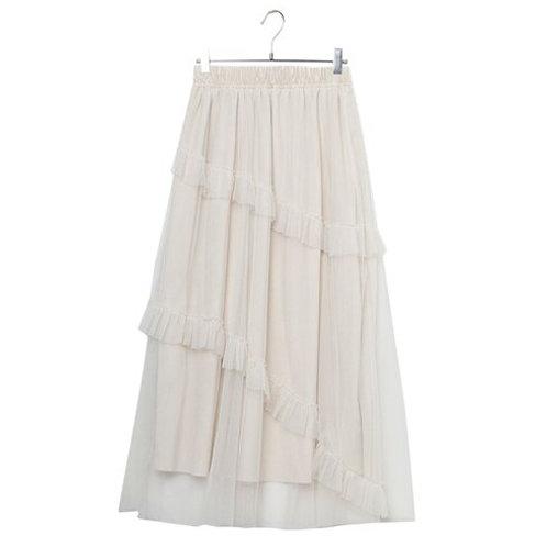 2020 New Fashion Tulle Skirt Women Long Maxi