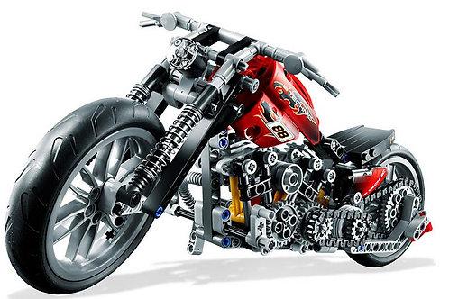 378 Pieces Building Bricks Block Harley-Davidson Motorcycle model