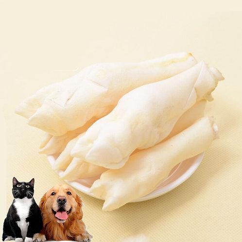 10pcs/Lot Real Bone Pet Toy Small Lamb Hoof Dog Snacks