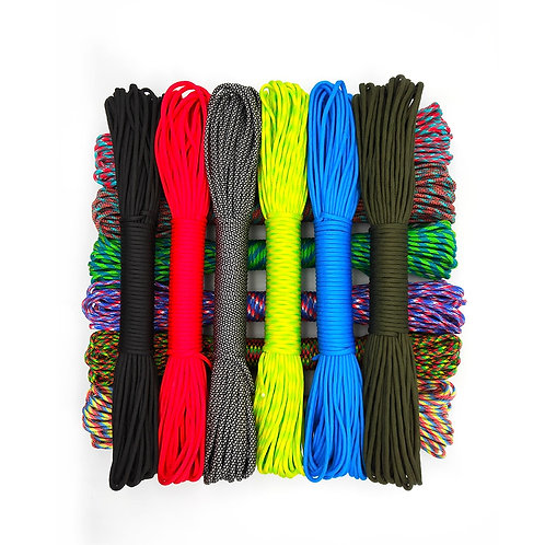 31 Meters Dia.4mm 9 Stand Cores Paracord for Survival Parachute