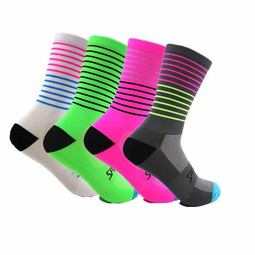 2020 Brand Colorful Sport Cycling Running Socks Men Women Sport Socks