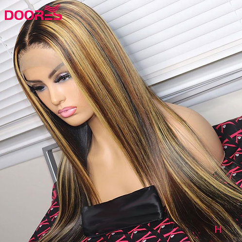 250 Density Lace Front Human Hair Wigs Remy