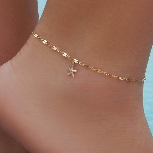 Boho Starfish Women Anklet Foot Chain Jewelry