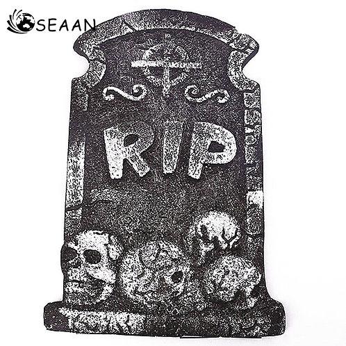 1PC Halloween Foam Tombstone Skeleton Tombstone