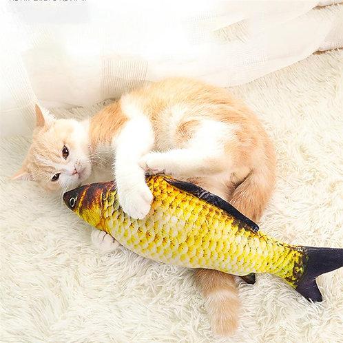 3D Fish Plush Cat Pet Toy Pet Gifts Fish Catnip Toys Stuffed
