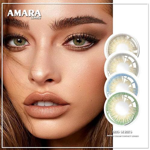 AMARA LENSES 1Pair IRIS Series Cosmetic Contact Lenses