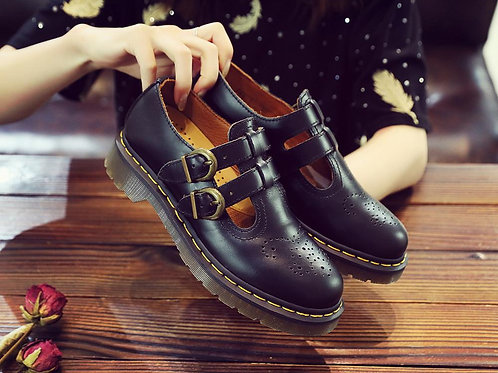 2020 New Ladies Leather Shoes Women Shoes