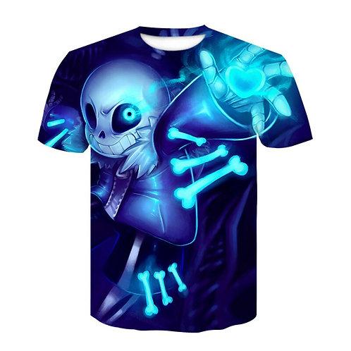 2020 Newest Skull T-Shirt Psychedelic 3d Print Tshirt