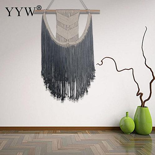2pcs Scandinavian Style Macrame Wall Hanging Boho