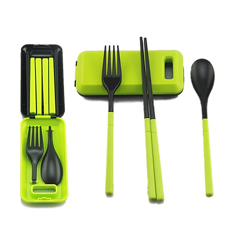 1PCS Camping Portable Cutlery Travel Kids Adult My Food