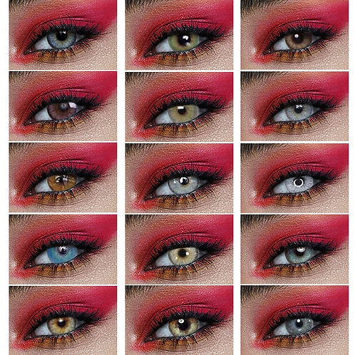 1 Pair Colored Contact Lenses Beauty Pupil Contact Lenses