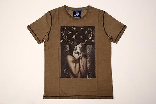 T-shirt Fundo Bandeira