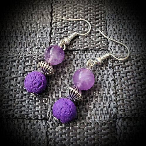 Purple Rain... Earings