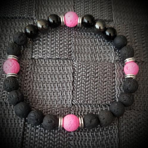 Onyx & Hematite Bracelet