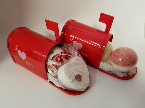 Be Mine Letter Box - Red