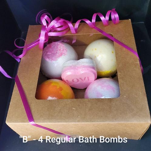 Gift Box - B - Random mini in centre