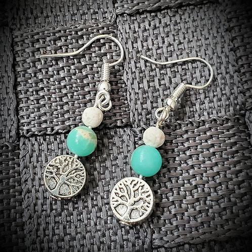 Tree of Life Earings - take 2