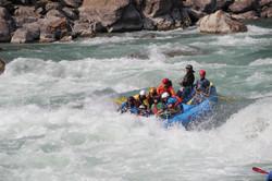 Rafting the Marshyangdi