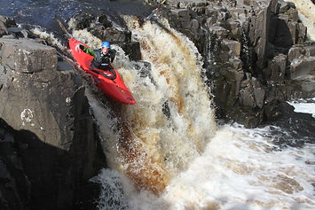 Scotland whitewater kayaking